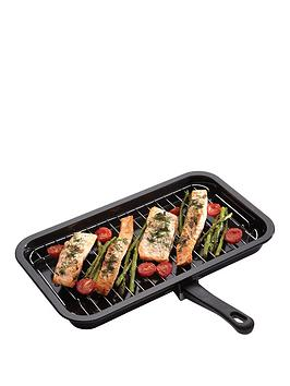 Kitchen Craft Kitchen Craft Enamel 40cm x 23cm Grill Pan