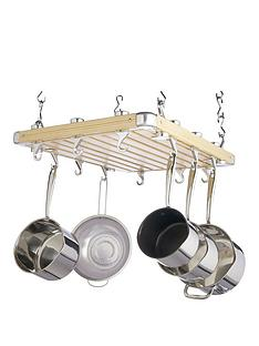 master-class-kitchen-craft-masterclass-hanging-pot-rack