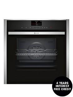neff-b47vs34n0bnbspbuilt-in-slideamphidereg-electric-single-oven-with-variosteamreg-technology-stainless-steel