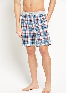 hugo-boss-woven-check-shorts