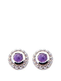 the-love-silver-collection-the-birthstone-collection-real-gemstone-sterling-silver-rhodium-plated-4mm-round-earrings