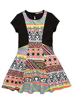 freespirit-girls-aztec-scuba-dress