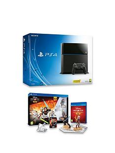 playstation-4-ps4-500gb-black-console-with-disney-infinity-30-star-warstrade-starter-pack