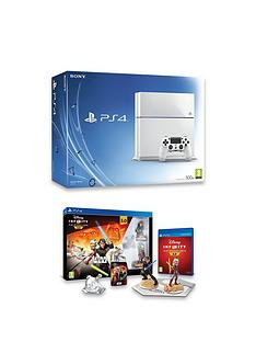 playstation-4-ps4-500gb-white-console-with-disney-infinity-30-star-warstrade-starter-pack