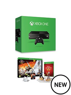 xbox-one-xbox-one-500gb-console-with-disney-infinity-30-star-warstrade-starter-pack