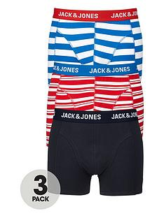 jack-jones-plainstripednbsptrunks-3-pack