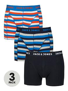 jack-jones-plainstripenbsptrunks-3-pack