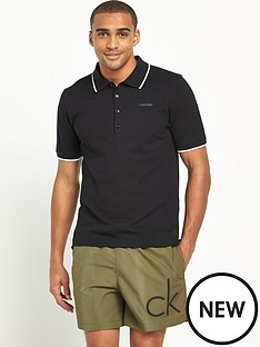 calvin-klein-short-sleevenbsppolo-shirt