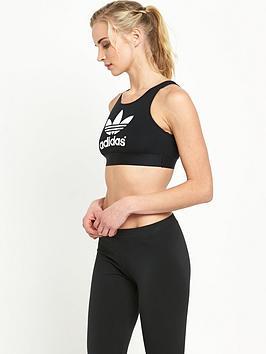 Adidas Originals Trefoil Crop Top