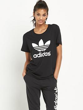 Adidas Originals Trefoil Boyfriend Fit TShirt