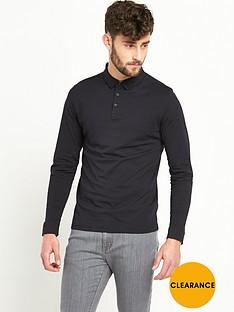 v-by-very-long-sleeve-jersey-mens-polo-shirt
