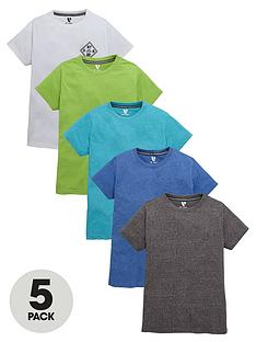 v-by-very-boys-marl-t-shirts-5-pack