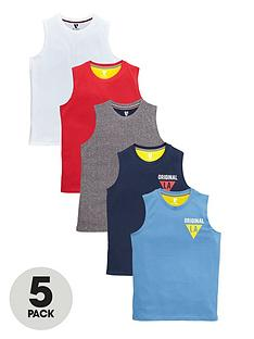 v-by-very-boys-tanks-5-pack