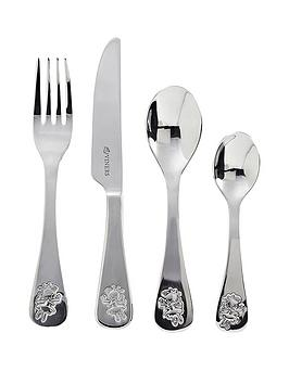 Viners Fairies 4 Piece Kids Cutlery Set