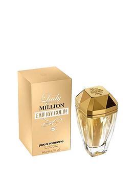 Paco Rabanne Lady Million Eau My Gold 80ml EDT