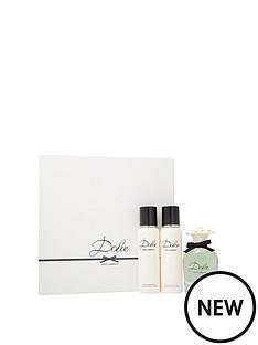 dolce-gabbana-dampg-dolce-75ml-edp-100ml-body-lotion-amp-100ml-shower-gel-gift-set
