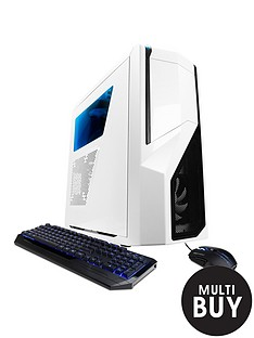 cyberpower-gaming-white-knight-intel-core-i7-16gb-ram-240gb-ssd-1tb-hdd-storage-desktop-base-unit-with-4gb-graphics-whiteblue