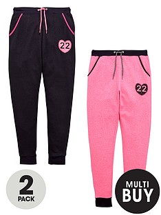 v-by-very-girls-fashion-basics-print-joggers-2-pack
