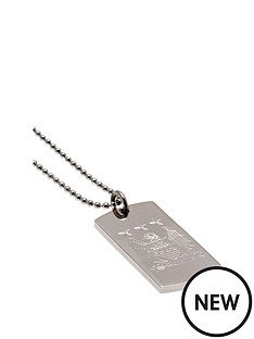 premier-league-football-stainless-steel-crest-dog-tag-pendant-with-choice-of-teams