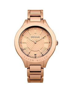 karen-millen-karen-millen-rose-gold-tone-set-dial-rose-gold-tone-stainless-steel-bracelet-ladies-watch