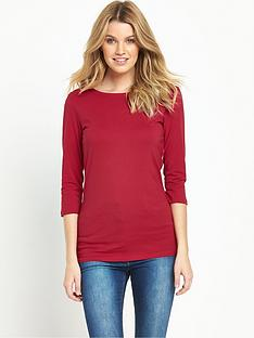 south-jersey-34-sleeve-crew-neck-topnbsp