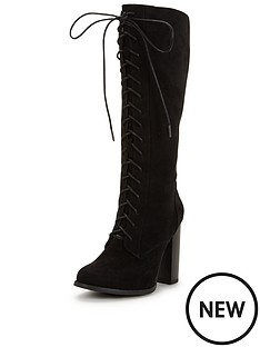 shoe-box-bloomfield-lace-front-knee-high-boot-with-block-heel-black