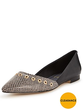 shoe-box-devonshirenbsptwo-part-eyelet-ballerina-shoesnbsp