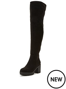 shoe-box-alfred-thigh-high-stretch-boot-chunky-heel-black
