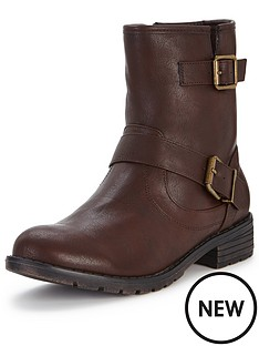 shoe-box-gordon-casual-flat-buckle-ankle-boot-dark-brown