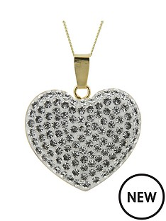 evoke-gold-plated-sterling-silver-clear-crystal-large-heart-pendant