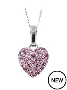 love-silver-sterling-silver-pink-cubic-zirconia-heart-pendant