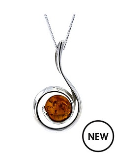 love-silver-sterling-silver-amber-swirl-pendant