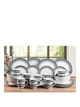 BANDED 32PC DINNER SET