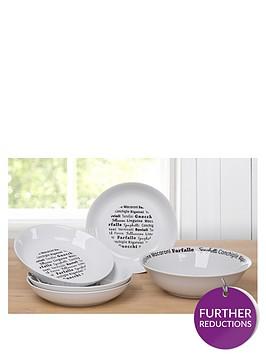 waterside-5-piece-italian-black-script-pasta-serving-set