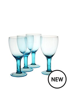 smokey-blue-wine-glasses-set-of-4