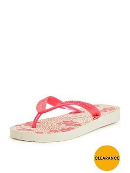 havaianas-girls-floral-flip-flops