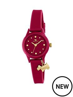 radley-radley-watch-it-berry-dial-with-dog-charm-berry-silicone-strap-ladies-watch