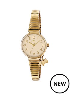 radley-blair-gold-tone-dial-with-dog-charm-stretch-gold-plated-expander-bracelet-ladies-watch