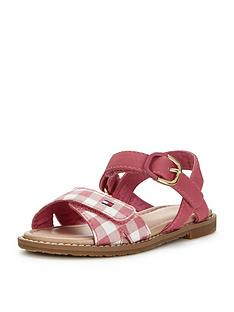 tommy-hilfiger-girls-gingham-sandal