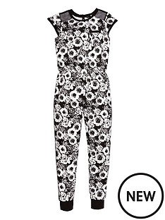 v-by-very-girls-mesh-panel-floral-jumpsuit