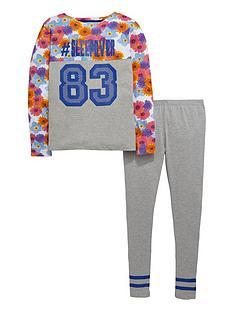 v-by-very-girls-floral-varsity-pyjamas-set