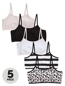 v-by-very-girls-crop-tops-5-pack