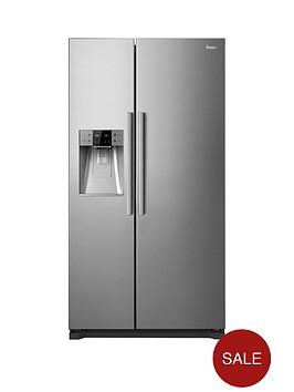 swan-sr13020s-plumbed-american-style-fridge-freezernbsp--stainless-steel