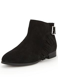 shoe-box-henrietta-casual-flat-suede-ankle-boots-with-tassel-buckle-detailnbsp