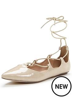 shoe-box-alma-ghillie-tie-lace-up-ballerina-nude-pu
