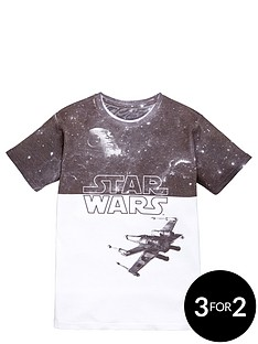 star-wars-boys-millennium-falconnbspsublimation-tee