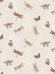 enchanted-wings-copper-wallpaper