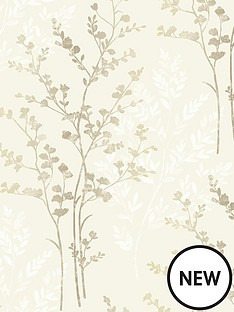 fern-motif-natural-wallpaper