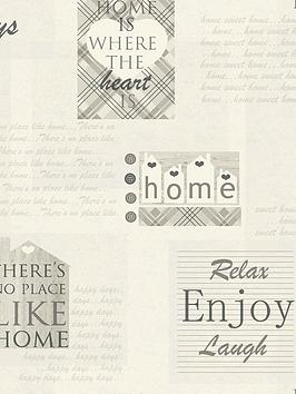 arthouse-happy-days-charcoal-wallpaper