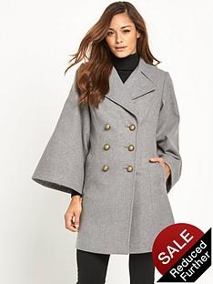 v-by-very-cape-sleeve-coat